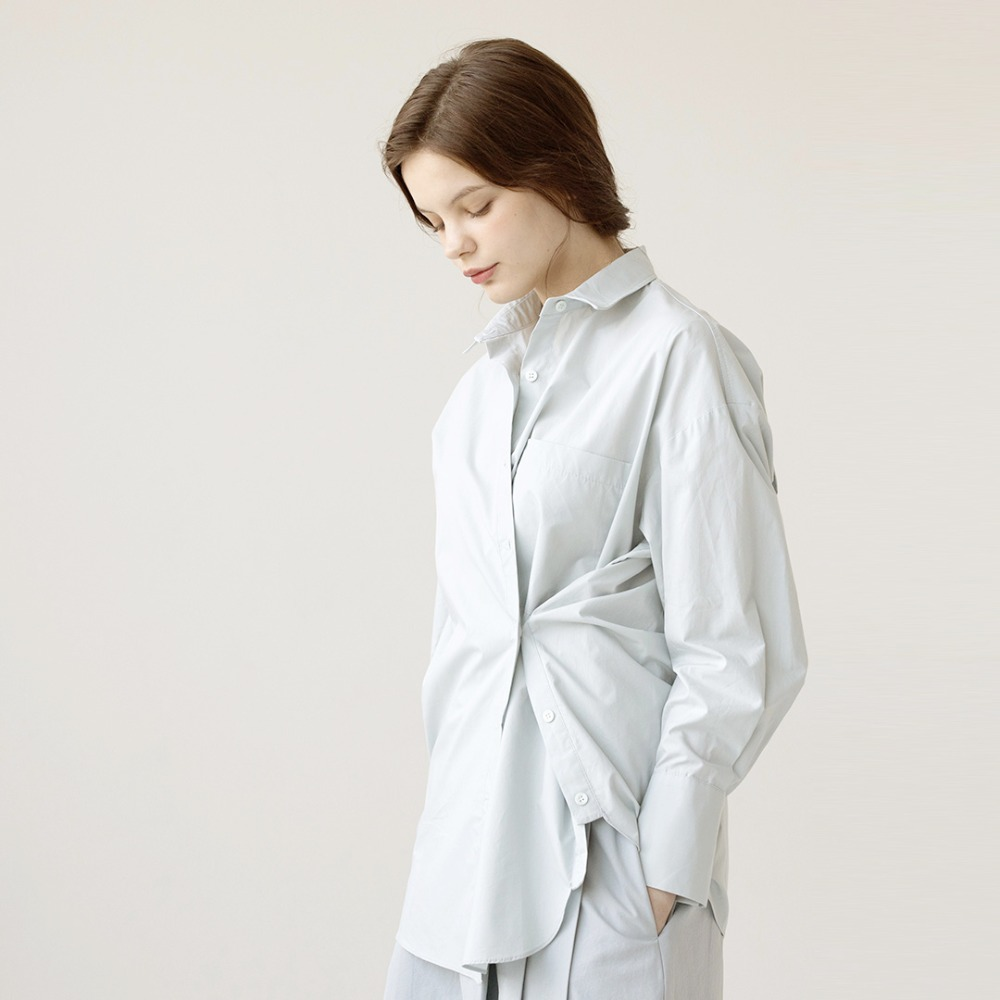 2way oversized shirts  AST201003-SK